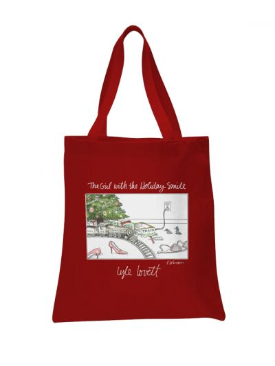 Lyle Lovett - The Girl With The Holiday Smile Tote Bag