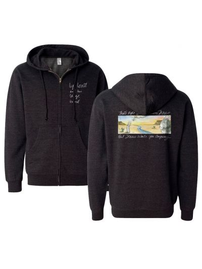 Lyle Lovett - Not From Texas Zip Hoodie